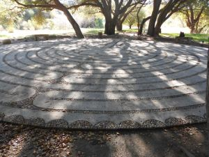 Labyrinth at Rancho la Puerta