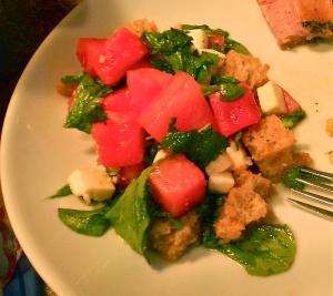 Watermelon Panzanella